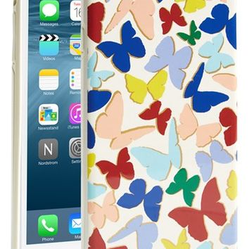 kate spade new york 'butterfly' iPhone 6 Plus case - White