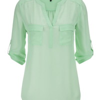 The Perfect Blouse With Two Pockets
