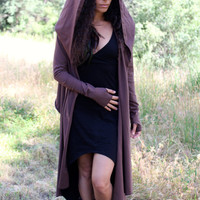 Hooded Cardigan Wrap - Elven Jacket