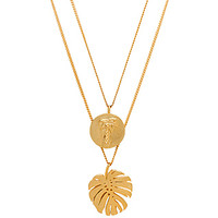 joolz by Martha Calvo Palm Springs Necklace in Gold | REVOLVE