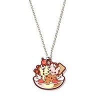 Neapolitan Sundae Necklace by Sugar Bunny Shop