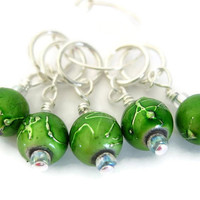 Knitting Stitch Marker Set | Beaded Stitchmarker | Stitch Marker for Knitting | Beaded Marker | 0706