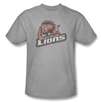 Mens Friday Night Lights East Dillon Lions Distressed Logo Tee Shirt