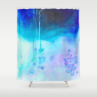 Waiting on the Other Side Shower Curtain by House of Jennifer