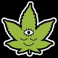 Woke Weed Sticker