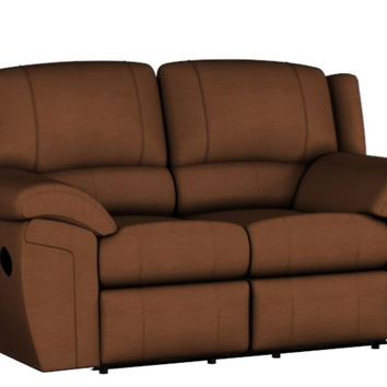 Dual Reclining Leather Color Customizable Loveseat Sofa Daley by Palliser