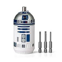 Star Wars R2D2 Screwdriver With 3 Forged Steel Bits