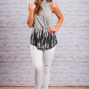 Crazy In Love Tank, Gray