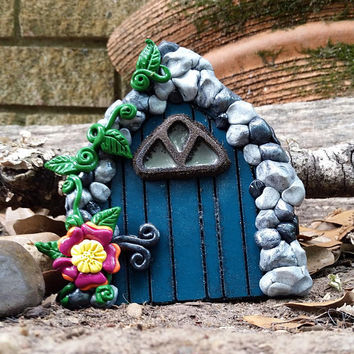 Fairy Door, Gnome Door or Tooth Fairy Door made as a Fairy Garden Accessory for your Fairy Garden Kit or Fairy Tree in your Fairy Garden