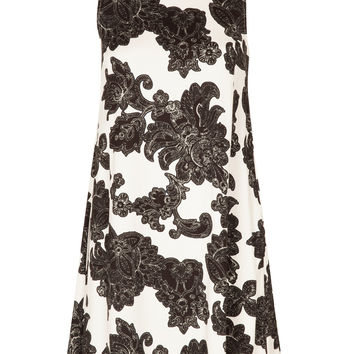 Sally Paisley Floral A-Line Shift Dress