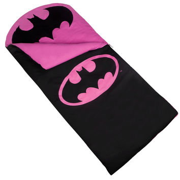 Batgirl Kids Sleeping Bag