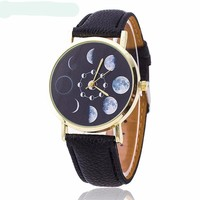 Moon Phase Quartz Watches