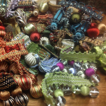 Tassels, Trim, Beads and Embellishments - Trim Sample Collection - Lot 12