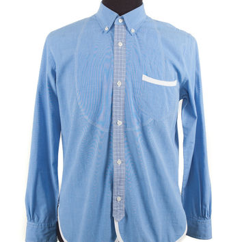 Men's Junya Watanabe Blue Cotton Size L Shirt
