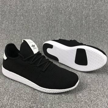 Adidas Pharrell Williams Women/Men Black Weave Running Sneaker