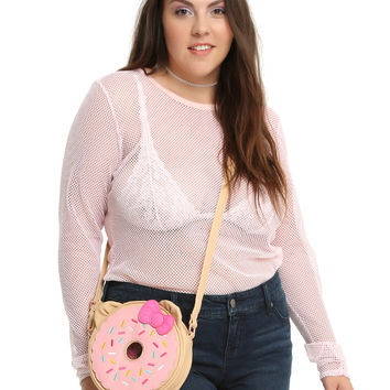 Loungefly Hello Kitty Donut Crossbody Bag