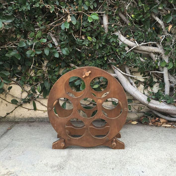 Wooden Wine Rack Vintage Wood Wine Rack Vintage Wooden Round Wine Rack Wooden Wine Rack