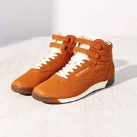 Reebok Freestyle Hi Exotic High-Top Sneaker - Brown