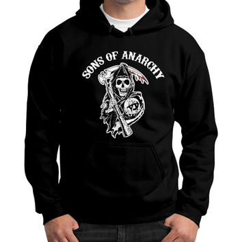 SONS OF ANARCHY Gildan Hoodie (on man)