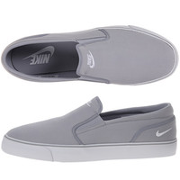 Nike White/Black Classic Canvas Leisure Shoes