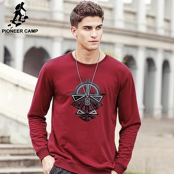 Hoodies Men Hip Hop cool Mens clothing male Hoodie Sweatshirt Slim Fit color Black red wine