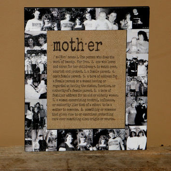 Mothers Day Frame Gift for Mom Mum Mother Photo Frame Collage Picture Frame Mother Daughter best friend Customized Gift Personalized Mother