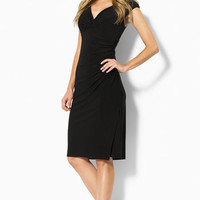 Lauren Ralph Lauren Faux Wrap Jersey Dress | Nordstrom