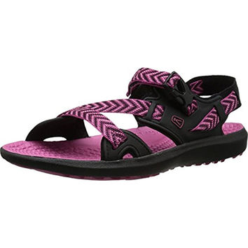 Keen Womens Maupin Colorblock Printed Sport Sandals