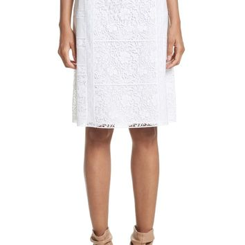 Burberry Drin Lace A-Line Skirt   Nordstrom