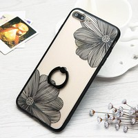 Flower Case for iPhone 6 6s 6+ 7 7+