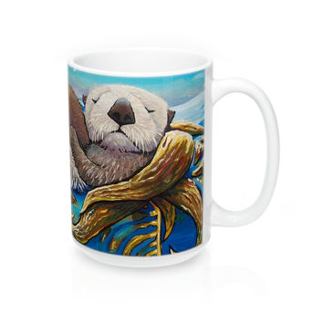 Sea Otter Coffee Mug