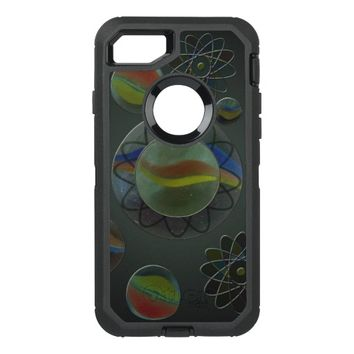 Wandering Marbles OtterBox Defender iPhone 7 Case