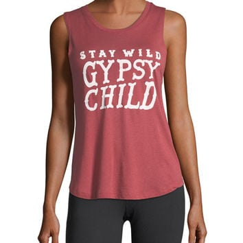 Spiritual Gangster Gypsy Child Muscle Tank