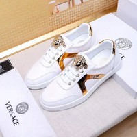 Versace Fashion Casual Flats Shoes-22
