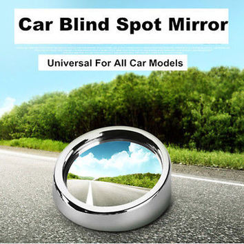 2 Car Rearview Blind Spot Side Rear View Mirror Convex Wide Angle Hot CAHU