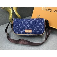 LV fashion hot selling women's printed casual makeup shoulder bag #3