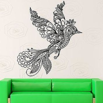 Wall Stickers Vinyl Decal Beautiful Bird Pattern Decor Living Room Unique Gift (ig1866)
