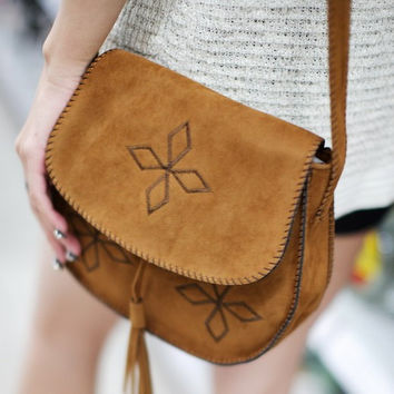 national bohemian style summer women handbag messenger bag shoulder bags faux suede matte leather small cross body bag girls bag