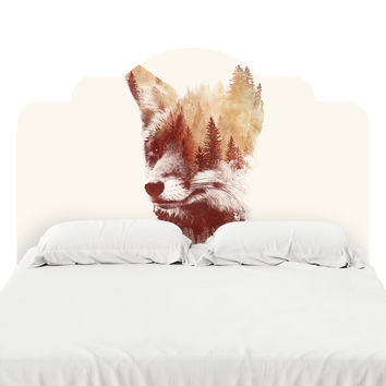 Blind Fox Headboard Decal