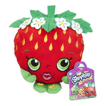 Strawberry Kiss Shopkins Plush