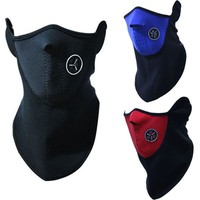 Winter Face Mask   Outdoor Sport Mask Ski Warm Balaclava Half Face Mask For Cycling Sport For Promotion