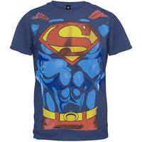 Superman - Costume T-Shirt (Size: M) = 1945923588