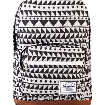 Chevron Black Leopard Pop Quiz Backpack