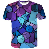 Floating Cubes Tee