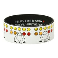 Disney Big Hero 6 Baymax Moods Rubber Bracelet