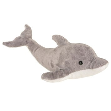 Grey Dolphin Plush Toy
