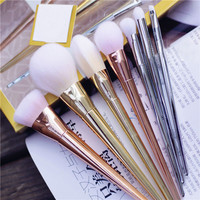Brush real Alloy Bold Techniques Powder Face Eye Brush Collection Makeup Brush