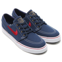 Nike Zoom Stefan Janoski CNVS Obsidian / tm red white gold