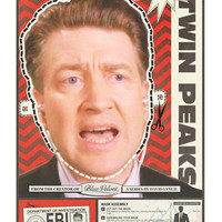 Gordon Cole Mask, Twin Peaks Poster 13x19