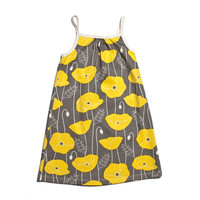 Winter Water Factory  Poppies Dress - Size 2T